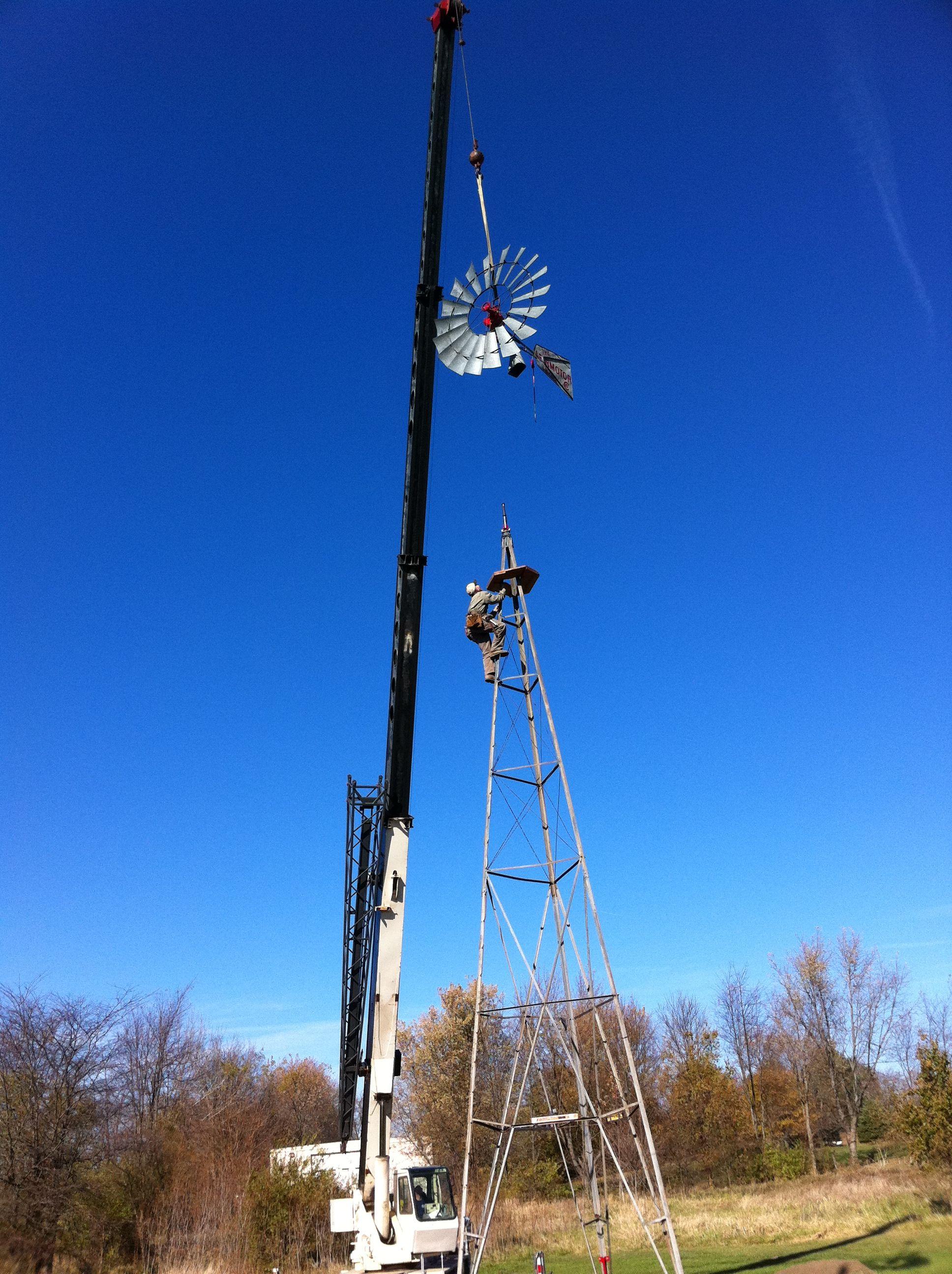 crane rocketship