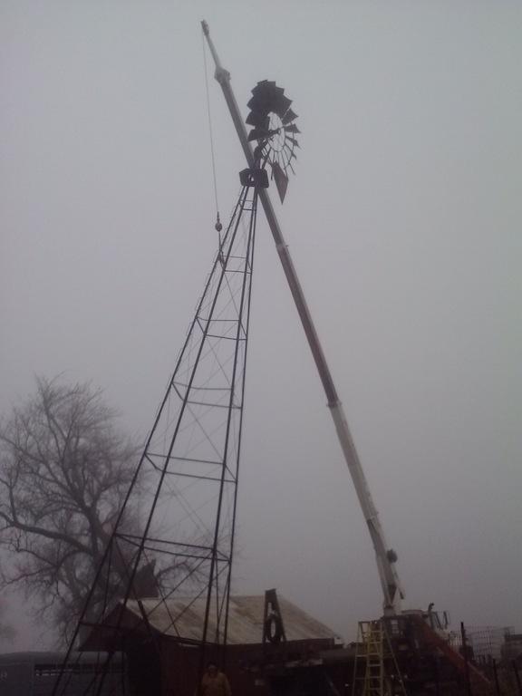 windmill service | Paul's Windmill & Crane Service