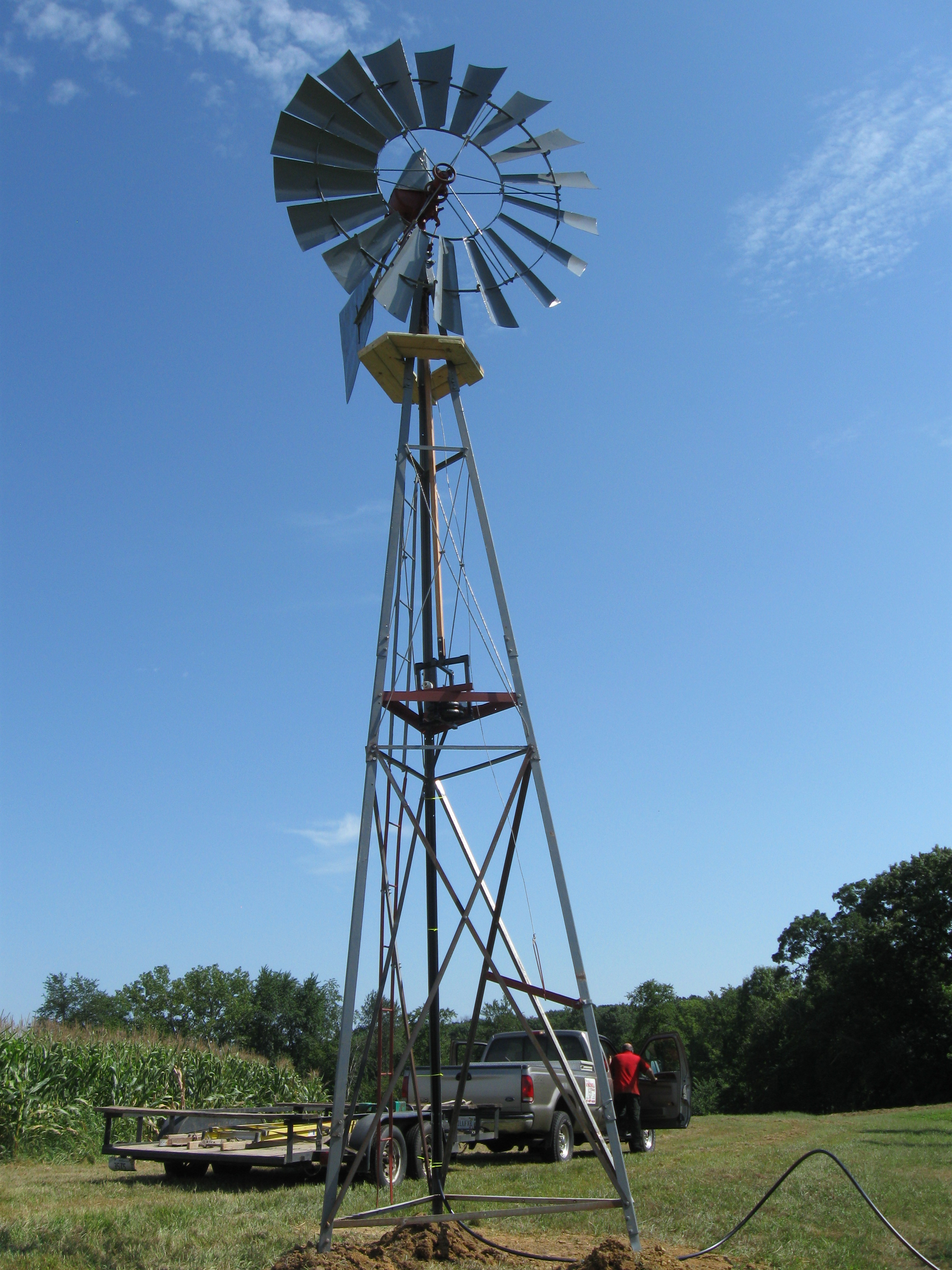 Pond Aeration Windmills Illinois Manufacturer Dealer