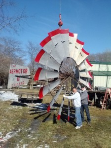 Large Windmills 14'
