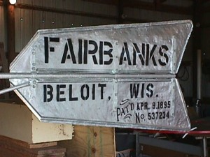 Fairbanks Windmill Tail Vane