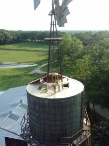 Fixing Roof Of Tank Tower