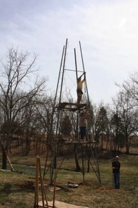 Installing Windmill and Tower from the Ground Up 3