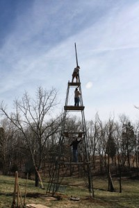 Installing Windmill and Tower from the Ground Up 5