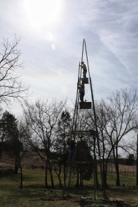 Installing Windmill and Tower from the Ground Up 6