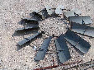 FOR SALE 7ft Flint & Walling model 37 Zephyr Windmill head