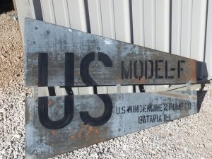 8' USWE model F (US Wind Engine & Pump Co. , Batavia, IL)