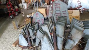 Vintage 6' and 8′ Aermotor A702 Windmills